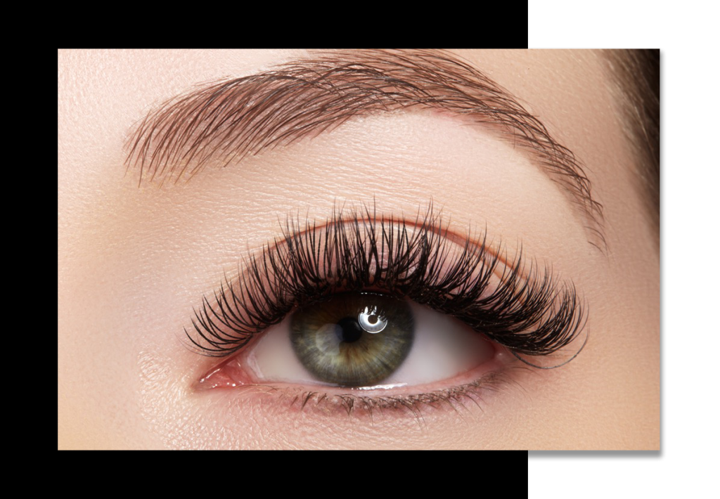 luxe volume eyelash extensions Hollywood