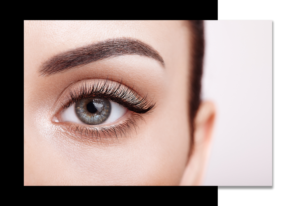 off duty model eyelash extensions Hollywood