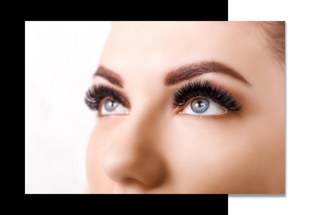 show stopping volume eyelash extensions Hollywood